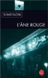 L'Ane Rouge par Georges Simenon