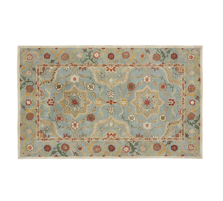 Leslie Persian Style Rug Pottery Barn Dining Room