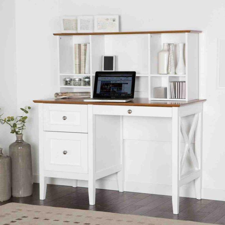 White Desk Armoire