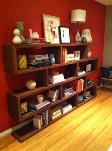"""mid-century"" bookcase"