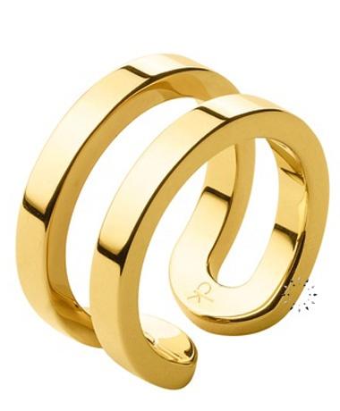 Δαχτυλίδι από επιχρυσωμένο ανοξείδωτο ατσάλι της CALVIN KLEIN  Τιμή: 67€  http://www.kosmima.gr/product_info.php?manufacturers_id=13_id=18587