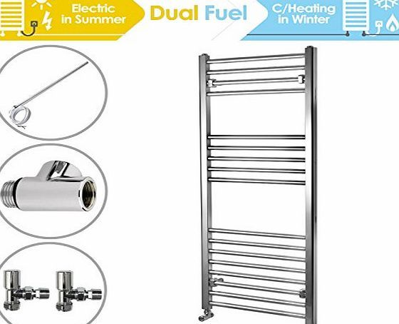 ENKI 1200 x 500 mm Straight Heated Towel Rail Radiator incl. Dual Fuel Kit No description (Barcode EAN = 5060472120168). http://www.comparestoreprices.co.uk/december-2016-week-1-b/enki-1200-x-500-mm-straight-heated-towel-rail-radiator-incl-dual-fuel-kit.asp