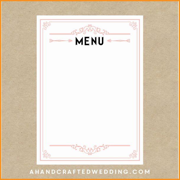Blank Restaurant Menu Template Elegant 16 Of Apple Menu Template Menu Template Menu Design Template Free Menu Templates