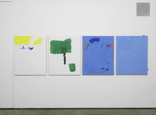 Michael Krebber at Maureen Paley, London