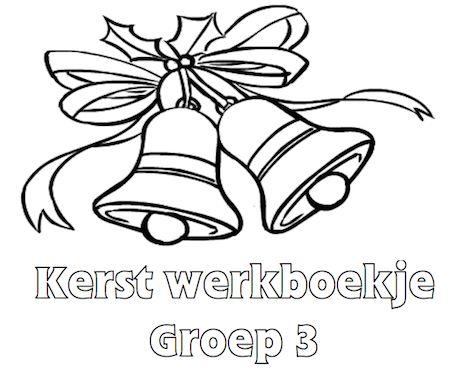Kerst Werkboekje Groep 3 - Klaarwerk.nl