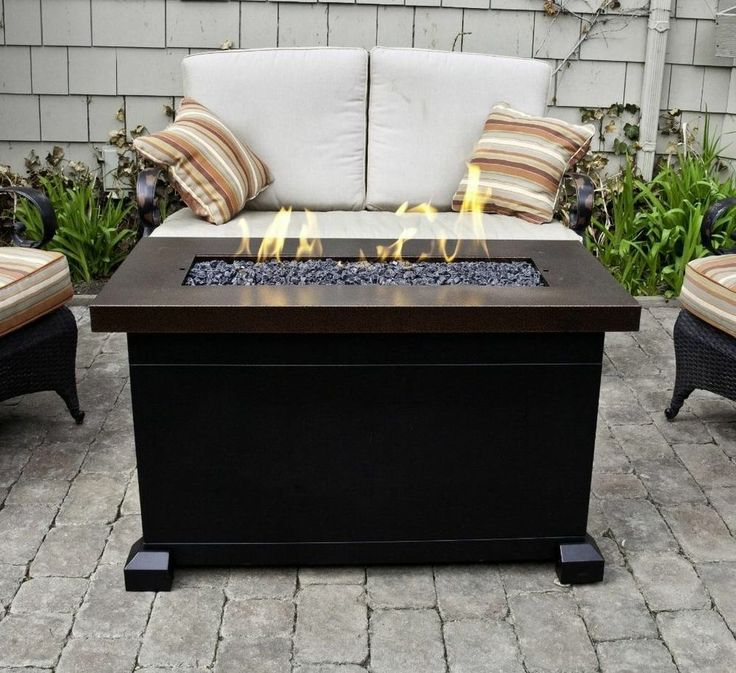 Best 25+ Outdoor propane fire pit ideas only on Pinterest ...