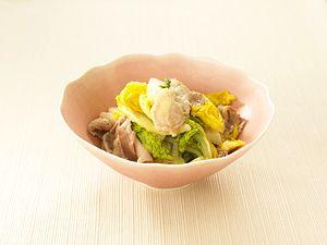 豚肉と白菜の水なし煮(Amway)