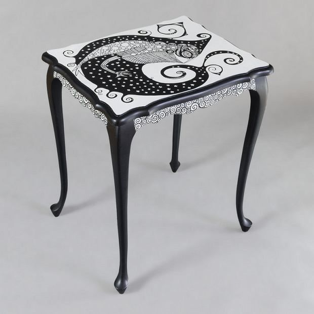 Zdjęcie numer 26 w galerii - Polski projekt: ręcznie malowane meble od Art PoPo