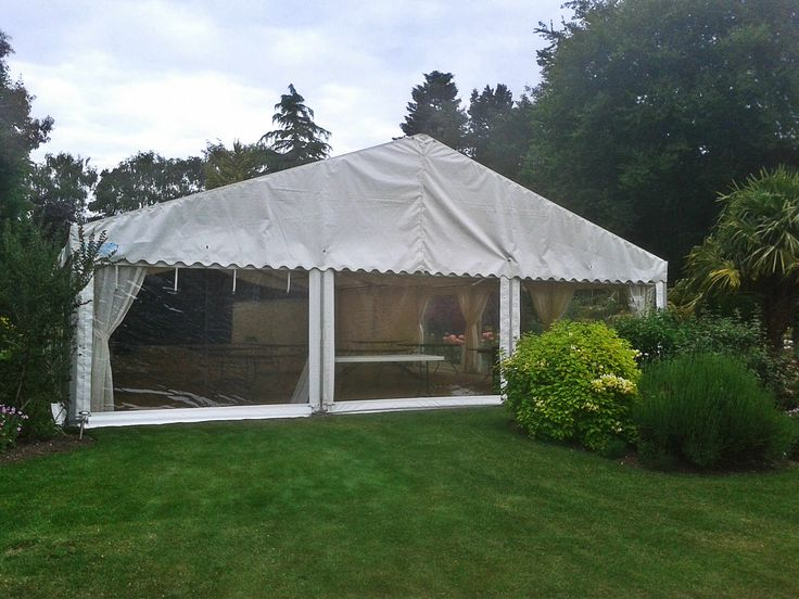 Birthday Party Marquee Hire In Garden