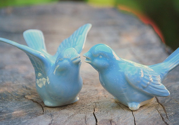 blue birds wedding cake topper bird wedding cake toppers quot blue birds of happiness 11977