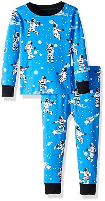56138b5ec789 Hatley Boys  Little Organic Cotton Long Sleeve Printed Pajama Sets ...