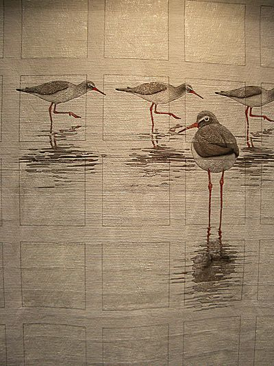 The bird quilt - unknown japanese author