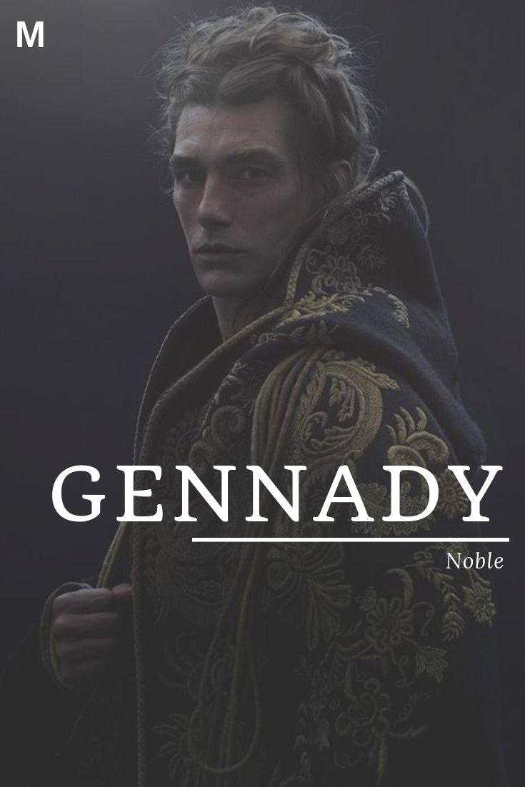 Gennady, wat nobele, Russische namen, G-babynamen, G-babynamen, mannelijke naam betekent …