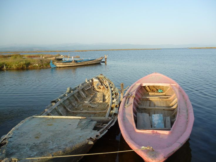Ψαρόβαρκες στο λιμάνι της Σαλαώρας (Αμβρακικός - Άρτα).