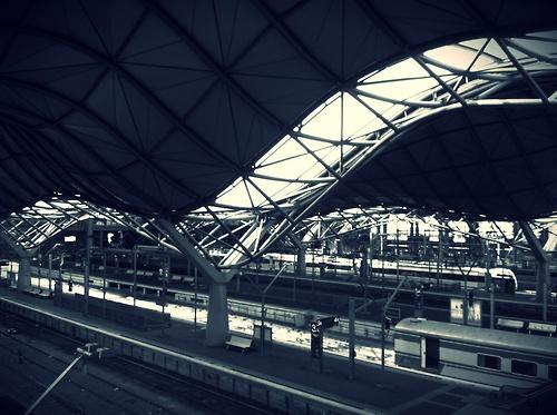 southern cross station, melbourne australia