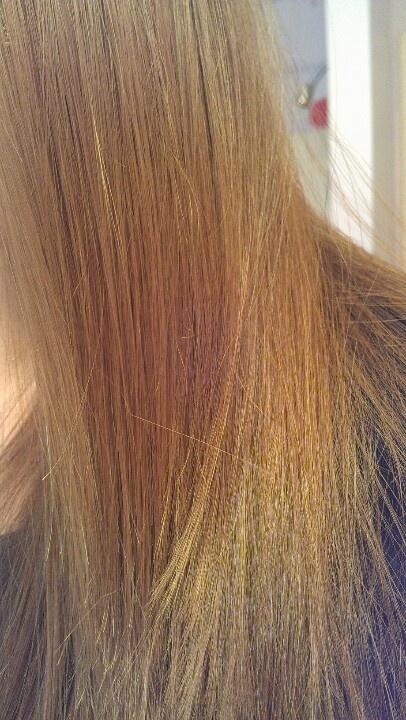 Straightened using Chi straightener