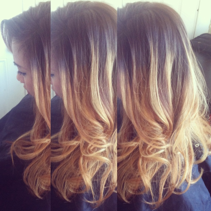 Lightened Her Base Color To A Medium Ashy Brown Ombre D Beige Blonde Ends Haircut Amp Quick Style