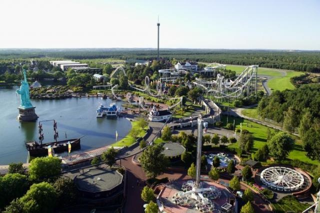 Heide-Park:  Soltau, Lower Saxony, Germany.  Ivisitied here a few times, it's a great place  <3