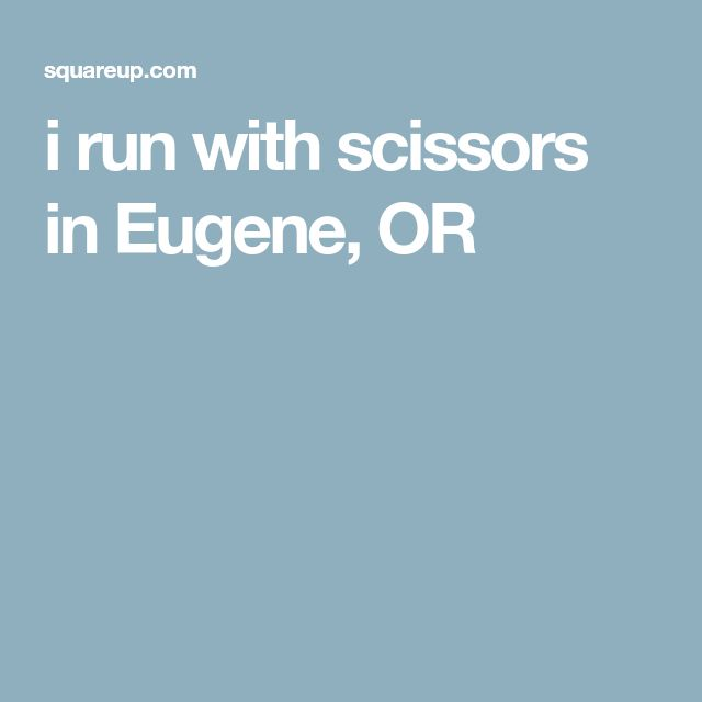 i run with scissors - salon (hairstyle) in Eugene, OR