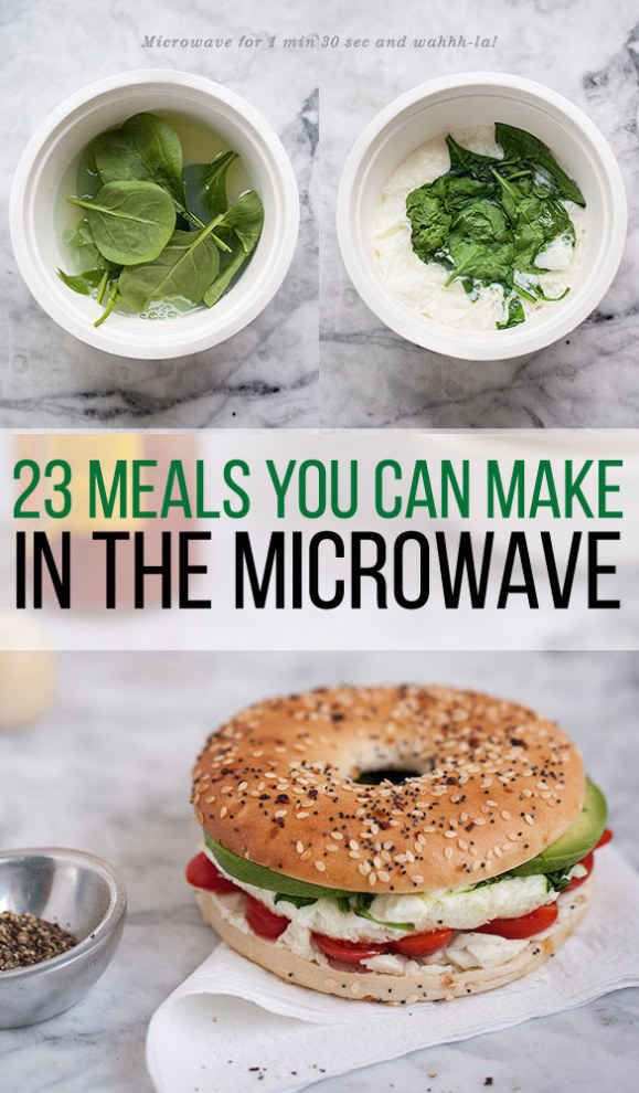 ☼☾ @dormsforgators 23 Dorm Room Meals You Can Make In A Microwave @dormsforgators