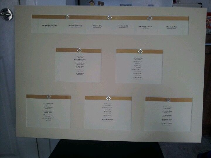 create your own wedding seating plan
