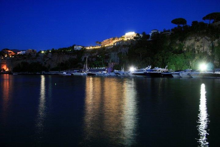 Marina Piccola by night