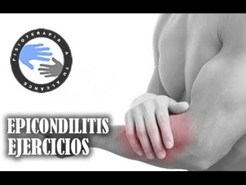Epicondilitis o codo de tenista, tratamiento y ejercicios / Fisioterapia a tu alcance - YouTube