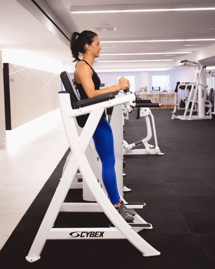 Repeat after us: There is nothing wrong with using weight machines. #fitness https://greatist.com/move/best-gym-machines