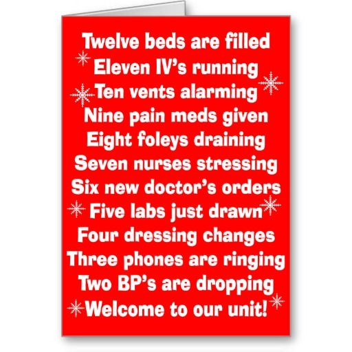 25 best A Nursey Christmas images on Pinterest | Medical humor ...