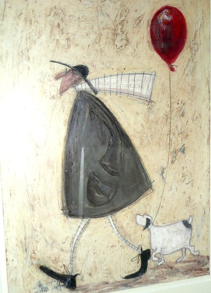 Original - A Balloon for you by Sam Toft