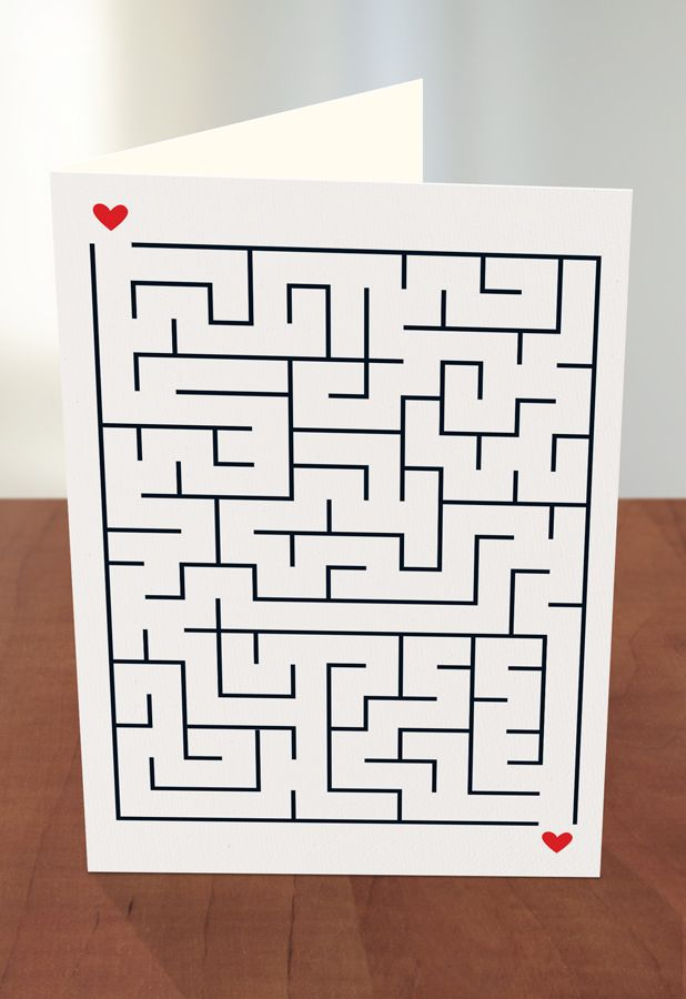 63 best threadless recycled paper greeting cards at target images youre a maze ing by threadless artist brittny mcelroy from wedding illustrationgreeting cardsmazeunited statestargetlabyrinthstarget audience m4hsunfo