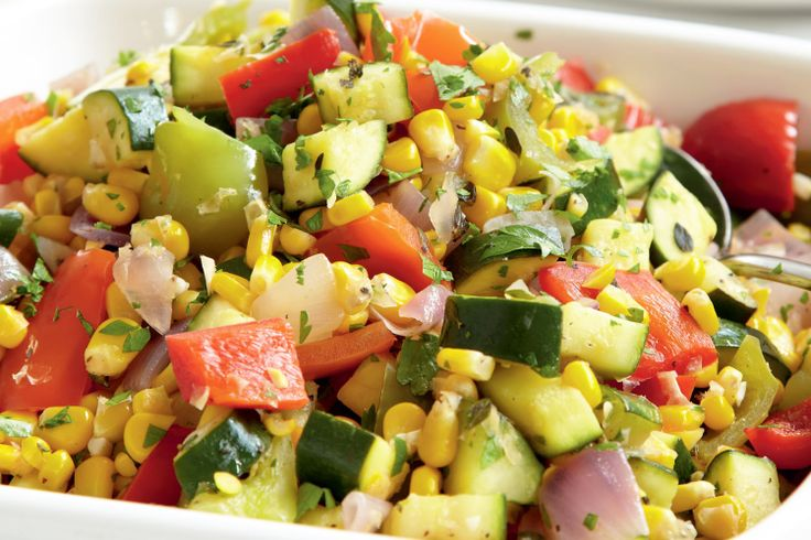 A delicious healthy vegetable packed ratatouille by Curtis Stone.  Great as a side dish!