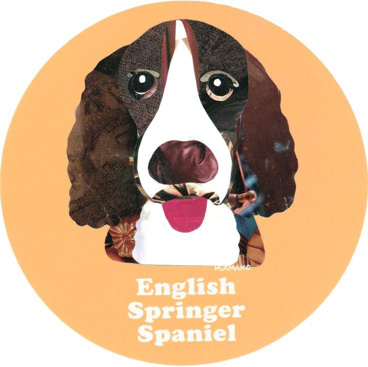 マイ @Behance プロジェクトを見る : 「009   English Springer Spaniel」 https://www.behance.net/gallery/42195029/009-English-Springer-Spaniel