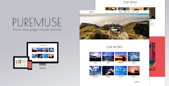 Puremuse - One Page Muse Theme