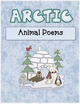 This collection of adorable arctic animal poems is a great way to help your students become more fluent readers!