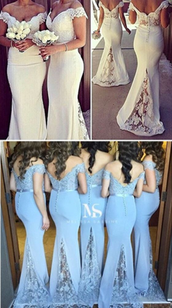 Diyouth Off Shoulder Backless Sweetheart Bridesmaid Dress Evening Celebrity Dresses Gown