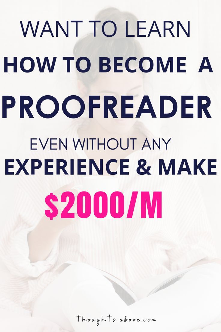 How To Become A Freelance Proofreader For Beginners Online Proofreader Proofreading Jobs How To Become