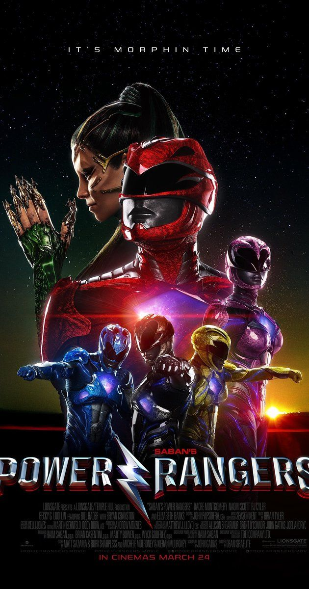 Directed by Dean Israelite.  With Elizabeth Banks, Bryan Cranston, Becky G., Sarah Grey. A group of high-school kids, who are infused with unique superpowers, harness their abilities in order to save the world.