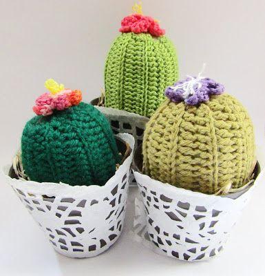 Crochet Cacti