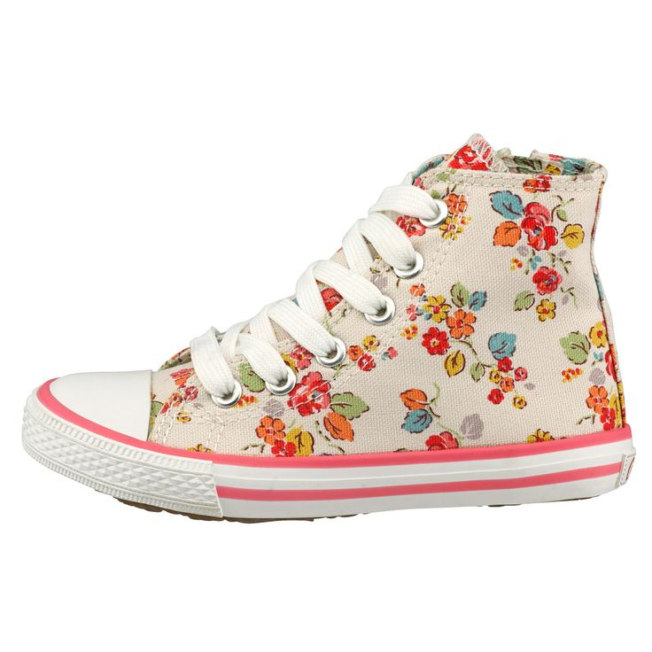Woodland Rose Kids High Tops  | Cath Kidston |
