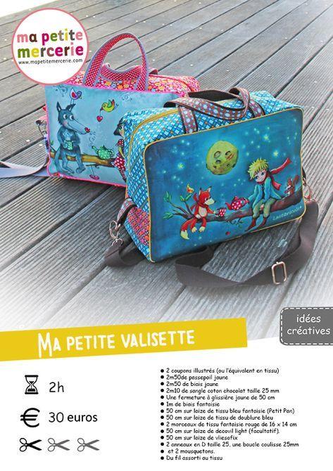 Diy la valisette laetibricole couture pour la maison tuto couture sac laetibricole et - Couture pour la maison ...
