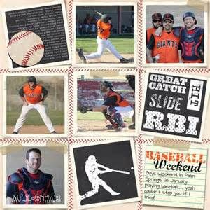 baseball scrapbooking pages - Yahoo Image Search Results