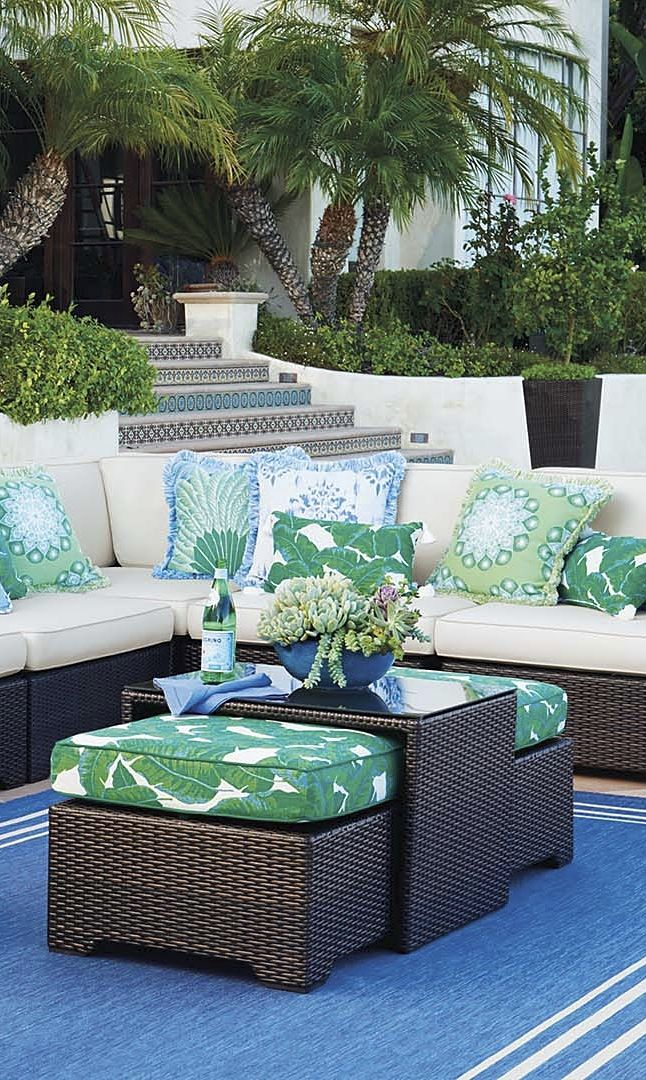 Beyond the Sea: Click this pin to see how to get our ocean-inspired look! | Frontgate Home + Style