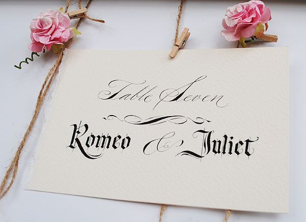 30 amazing wedding table name ideas literary classics