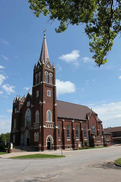 St. Wenceslaus Catholic Church - Wahoo, NE