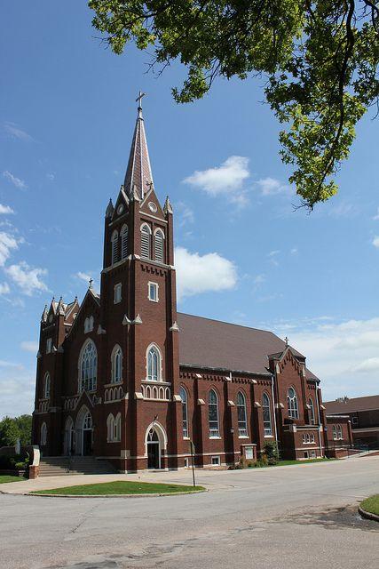 St. Wenceslaus Catholic Church - Wahoo, NE