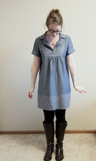 seymour: /chambray tova dress