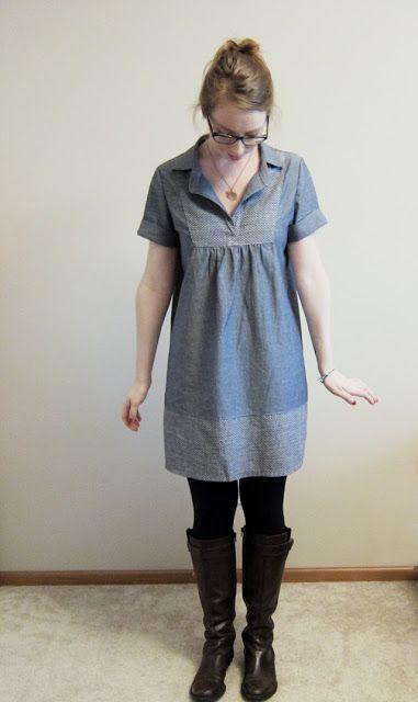 seymour: /chambray tova dress