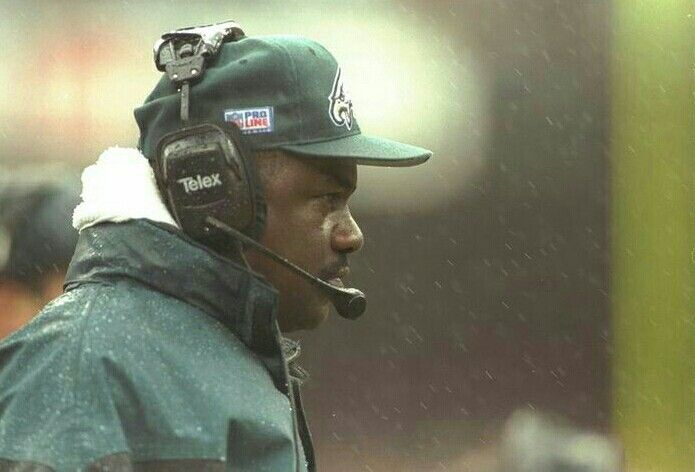 Philadelphia Eagles Head Coach Ray Rhodes