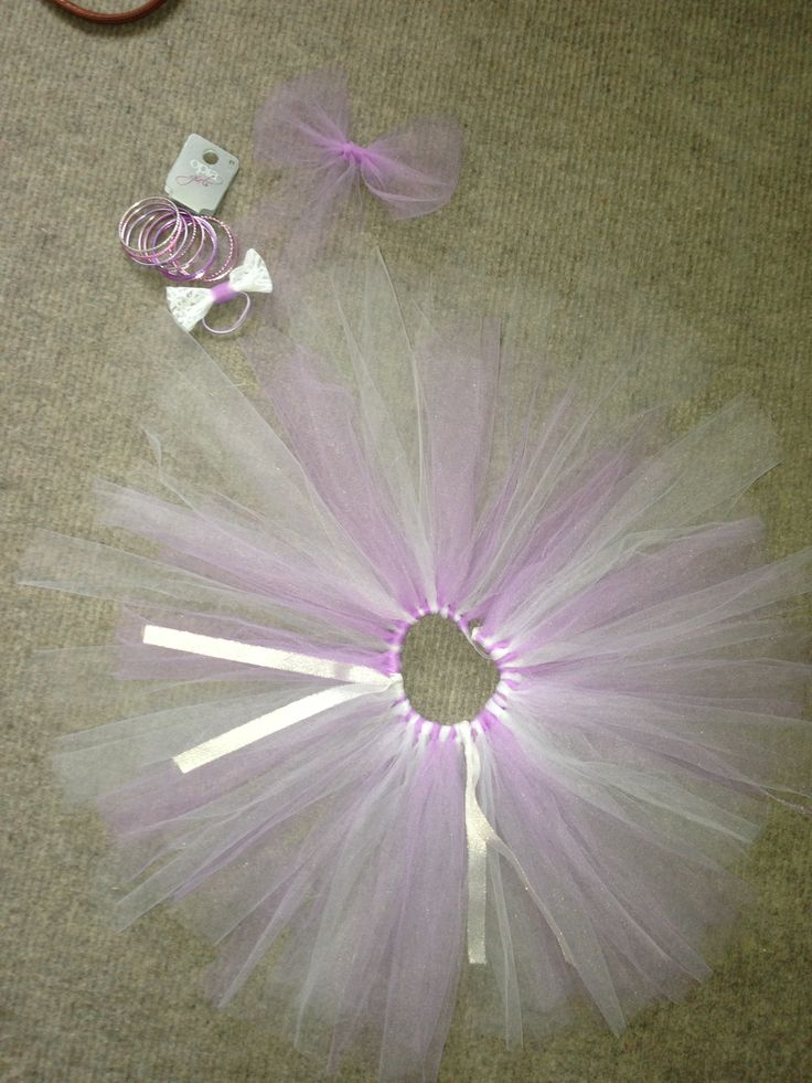 Tutu i made for my wee cousin